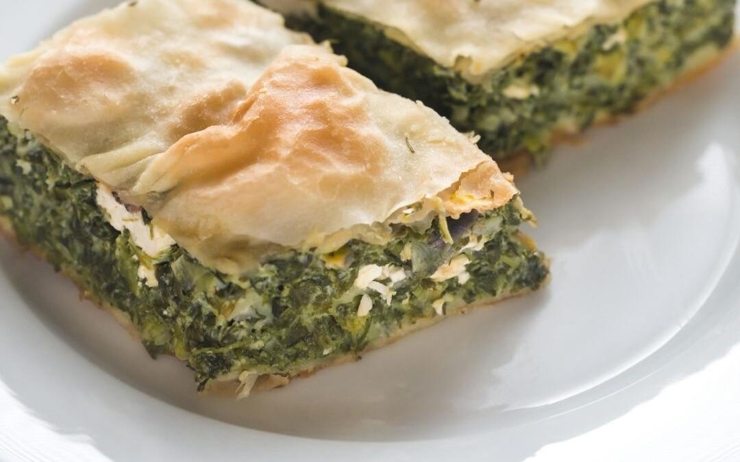 Spanokopita - Greek Spinach Pie