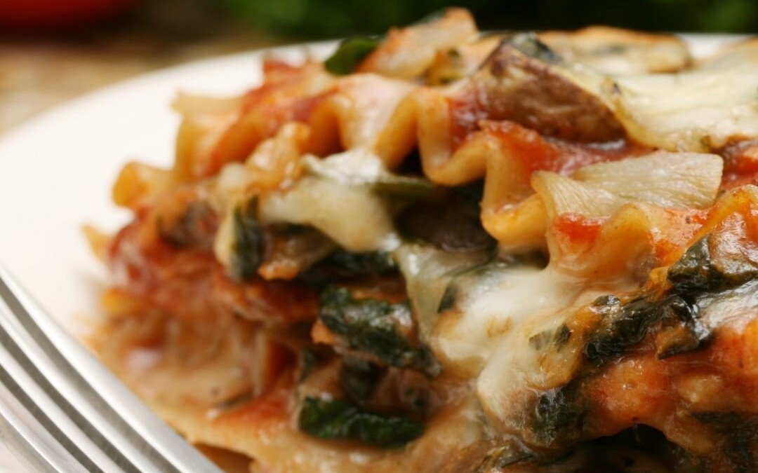 Spinach & Squash Lasagna